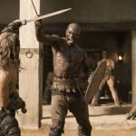 Peter Mensah in Spartacus Gods of the Arena