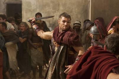 Liam McIntryre in Spartacus Vengeance