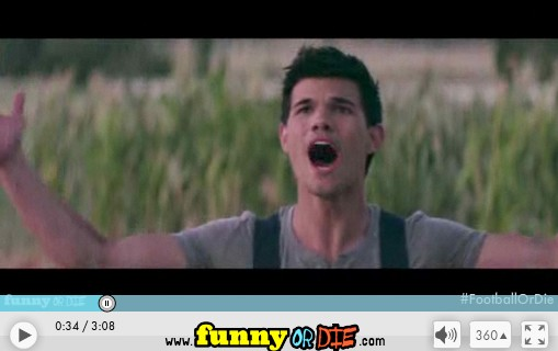 Taylor Lautner in Field of Dreams 2