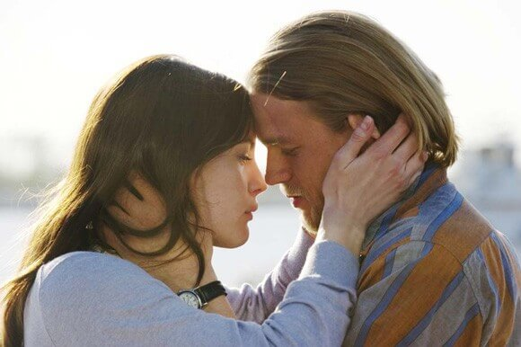 Liv Tyler and Charlie Hunnam in The Ledge