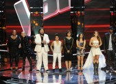Frenchie Davis, Beverly McClellan, Nakia, Vicci Martinez, Dia Frampton, Xenia, Casey Weston, Javier Colon on 'The Voice'