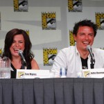 Eve Myles and John Barrowman from Torchwood: Miracle Day