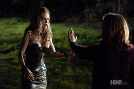 Kristin Bauer van Straten as Pam in True Blood