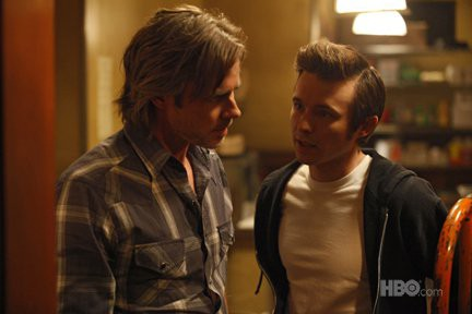 Sam Trammell and Marshall Allman in True Blood