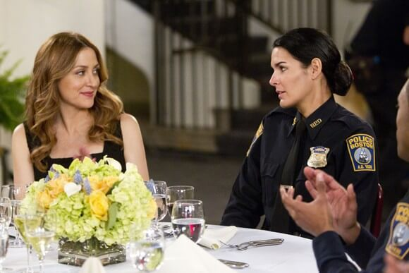 Sasha Alexander and Angie Harmon in Rizzoli and Isles