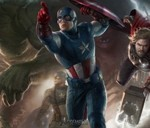 The Avengers Characters Teaser Poster