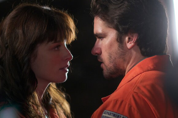 Rachel Nichols and Jackson Hurst in 'A Bird of the Air'