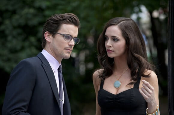 Matt Bomer and Eliza Dushku in White Collar