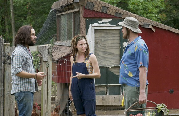 Paul Rudd, Kathryn Hahn and TJ Miller in Our Idiot Brother