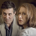 Ciaran Hinds and Helen Mirren in The Debt
