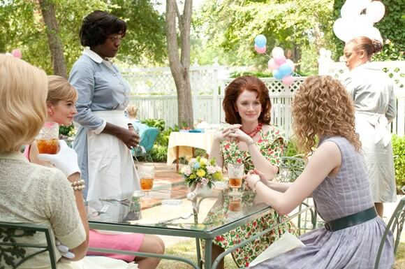 Viola Davis, Bryce Dallas Howard and Emma Stone in The Help