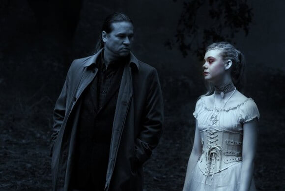 Val Kilmer and Elle Fanning in Twixt