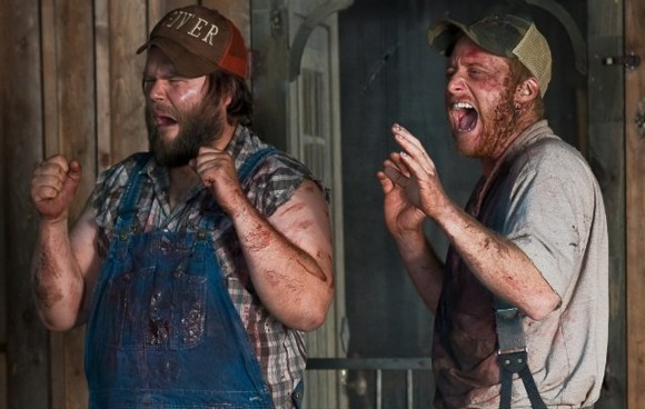 Tyler Labine and Alan Tudyk in Tucker & Dale vs Evil