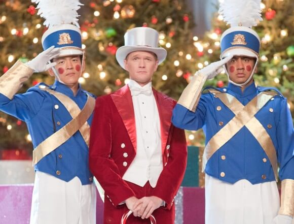 John Cho, Neil Patrick Harris and Kal Penn in A Very Harold & Kumar 3D Christmas