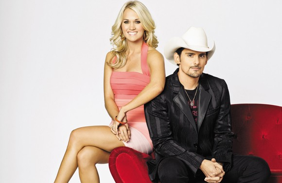 Carrie Underwood and Brad Paisley Co-Host the 45th Annual CMA Awards (Photo provided by Country Music Association)