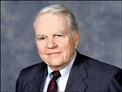 '60 Minutes' Correspondent Andy Rooney - Photo © CBS