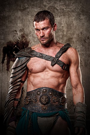 Andy Whitfield as Spartacus