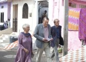 Judi Dench, Bill Nighy and Tom Wilkinson in The Best Exotic Marigold Hotel