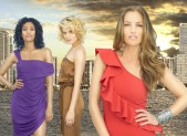 Annie Ilonzeh, Rachael Taylor and Minka Kelly in Charlie's Angels
