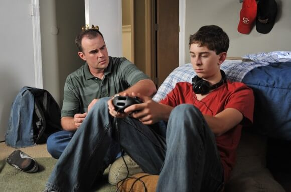 Alex Kendrick and Rusty Martin in Courageous