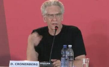 David Cronenberg at The Dangerous Method Press Conference