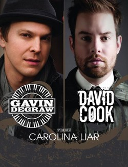 Gavin DeGraw and David Cook