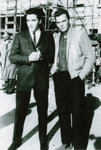 Elvis Presley and Sonny West
