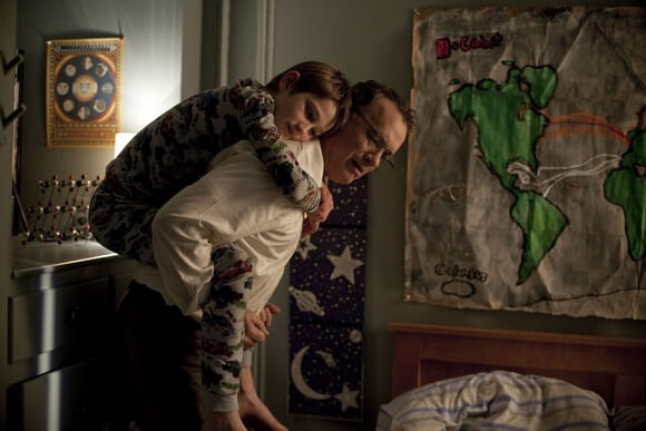 Thomas Horn and Tom Hanks in 'Extremely Loud & Incredibly Close'