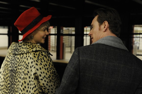 Carey Mulligan and Michael Fassbender in 'Shame'