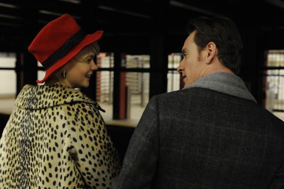 Carey Mulligan and Michael Fassbender in 'Shame'