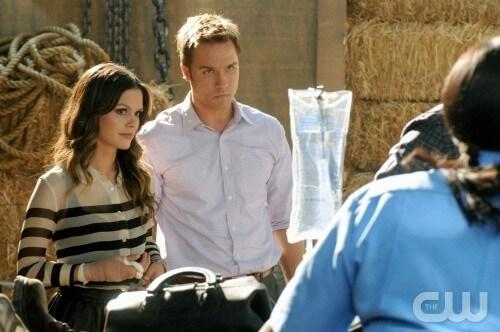 Rachel Bilson and Scott Porter in 'Hart of Dixie'
