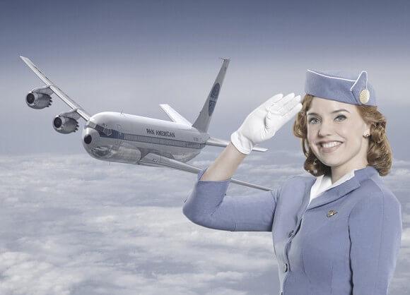 Kelli Garner in Pan Am