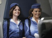 Christina Ricci and Margot Robbie in Pan Am
