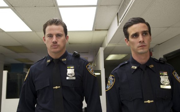 Channing Tatum and James Ransone in The Son of No One