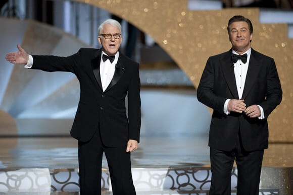 Steve Martin and Alec Baldwin Co-host the Oscars