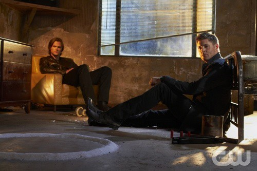 Jared Padalecki and Jensen Ackles in Supernatural