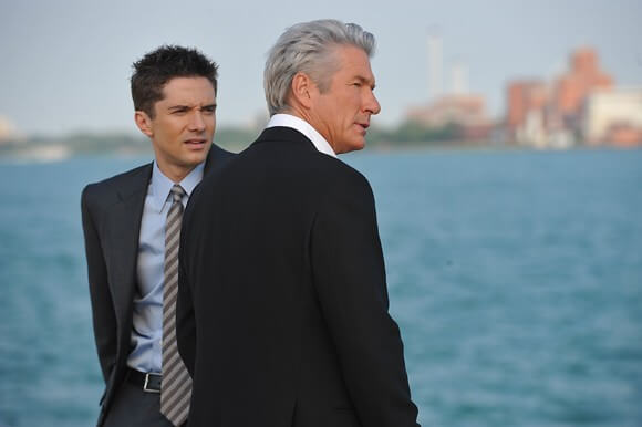 Topher Grace and Richard Gere in 'The Double'