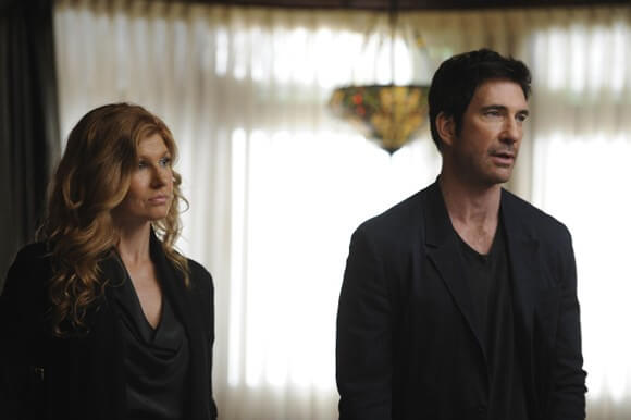 Connie Britton as Vivien Harmon and Dylan McDermott as Ben Harmon in 'American Horror Story'