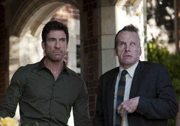 Dylan McDermott and Denis O'Hare in American Horror Story