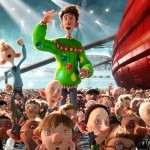 A scene from Arthur Christmas