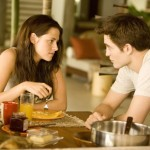 Kristen Stewart and Robert Pattinson in 'Breaking Dawn Part 1'