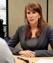 Catherine Tate in 'The Office'