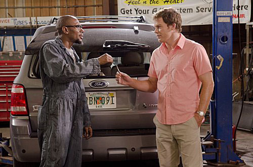 Mos Def and Michael C Hall in Dexter