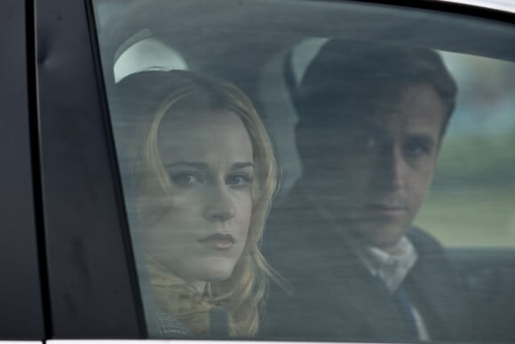 Evan Rachel Wood and Ryan Gosling in 'The Ides of March'