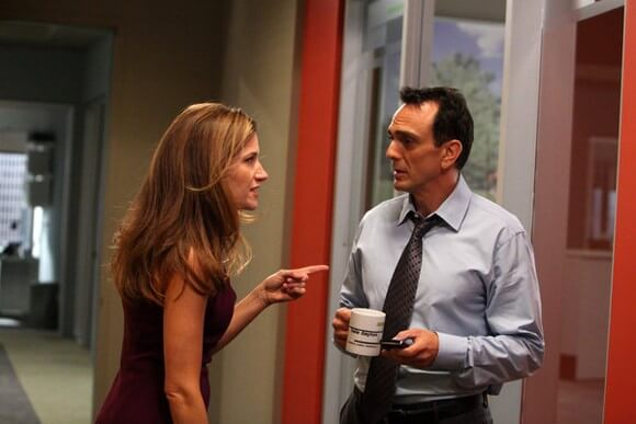 Kathryn Hahn and Hank Azaria in Free Agents