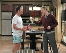 Kevin Dillon and David Hornsby in 'How to Be a Gentleman'