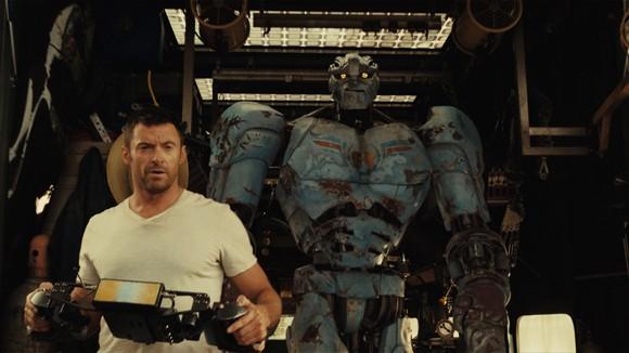 Hugh Jackman stars in Real Steel