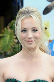 Kaley Cuoco at the Hop Premiere