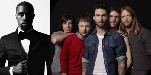 Kanye West and Maroon 5