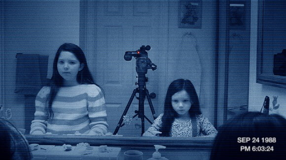 A scene from 'Paranormal Activity 3'